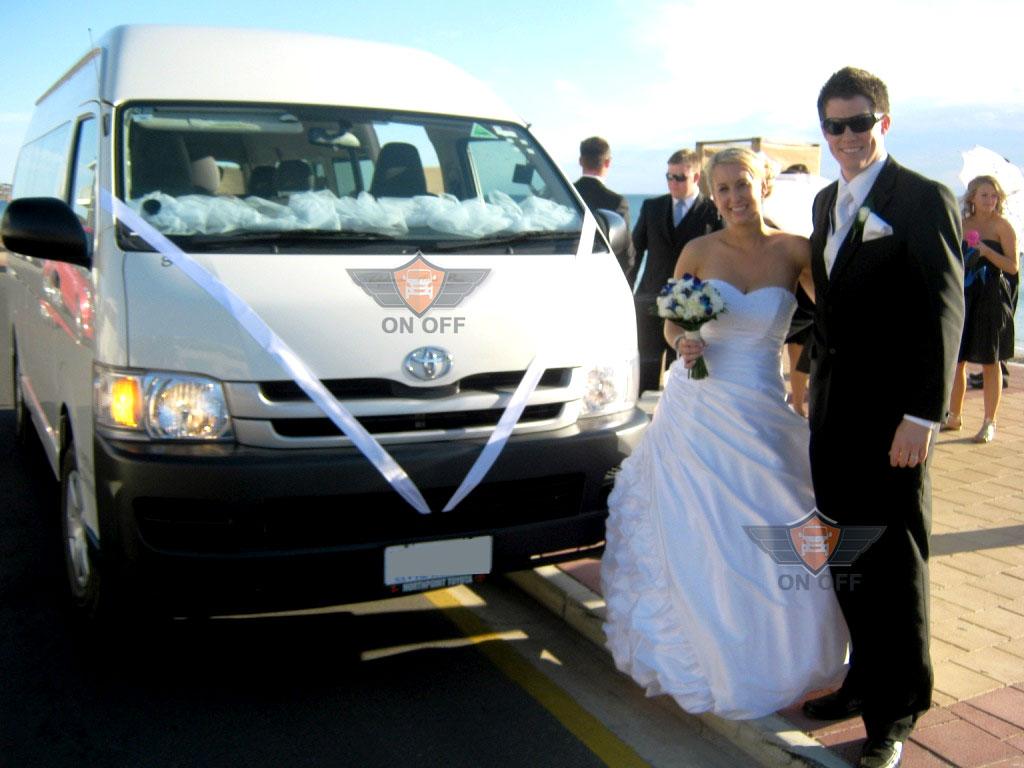 locação de vans para casamento