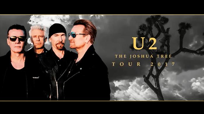 Van para show do U2