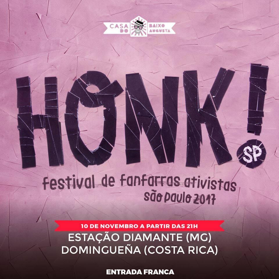 honk sp 2017 já começou