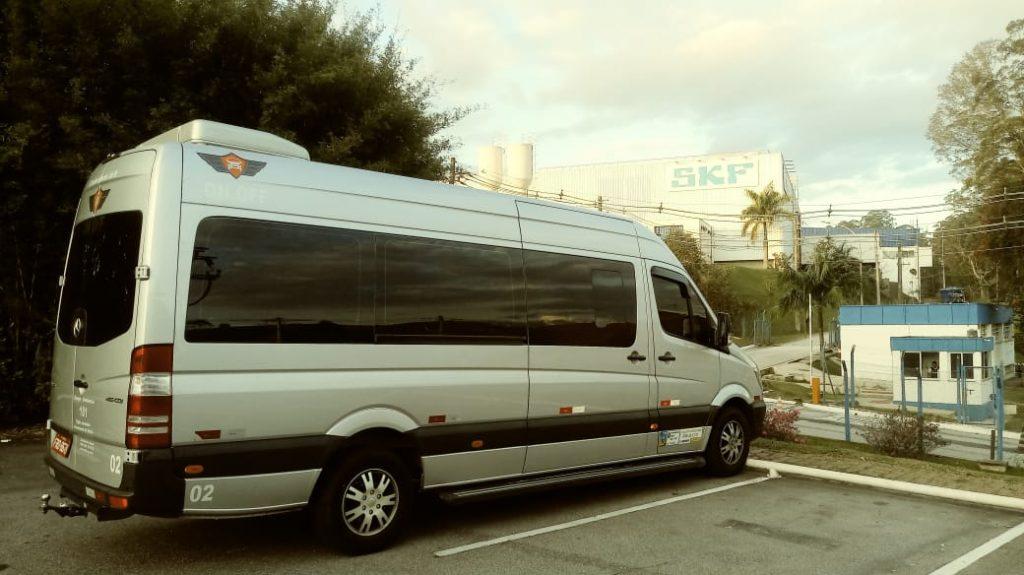 Fretamento de Vans para fretamento de empresas
