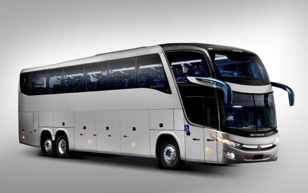 Aluguel de ônibus executivo com motorista